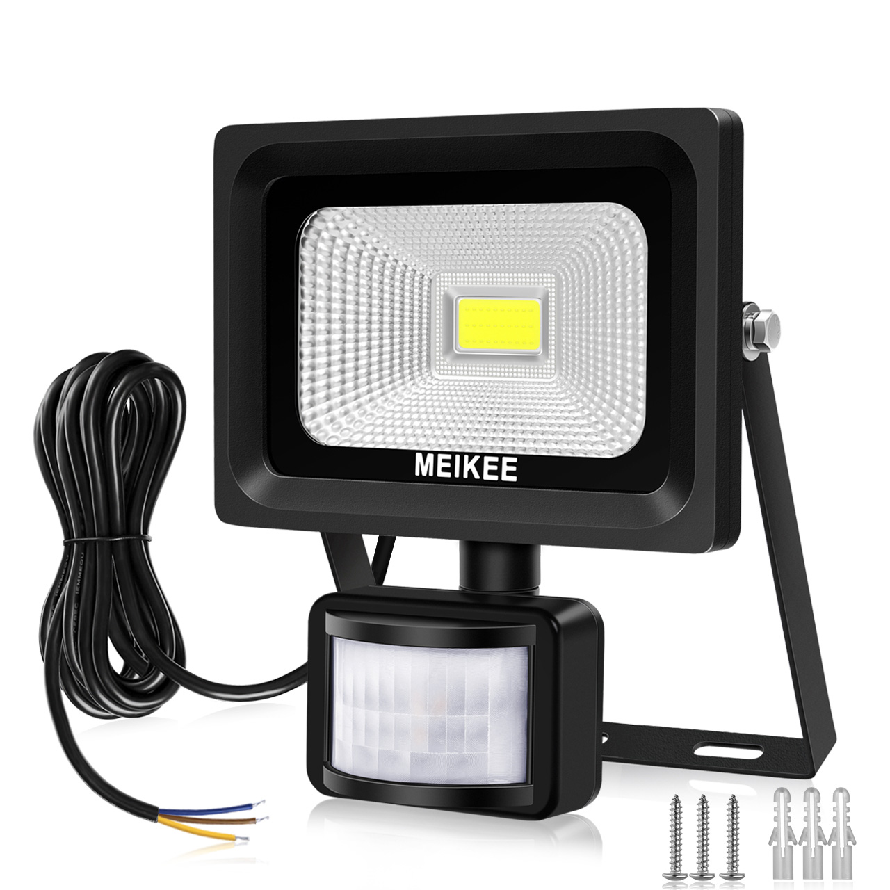 MEIKEE Security Lights with Motion Sensor 10W