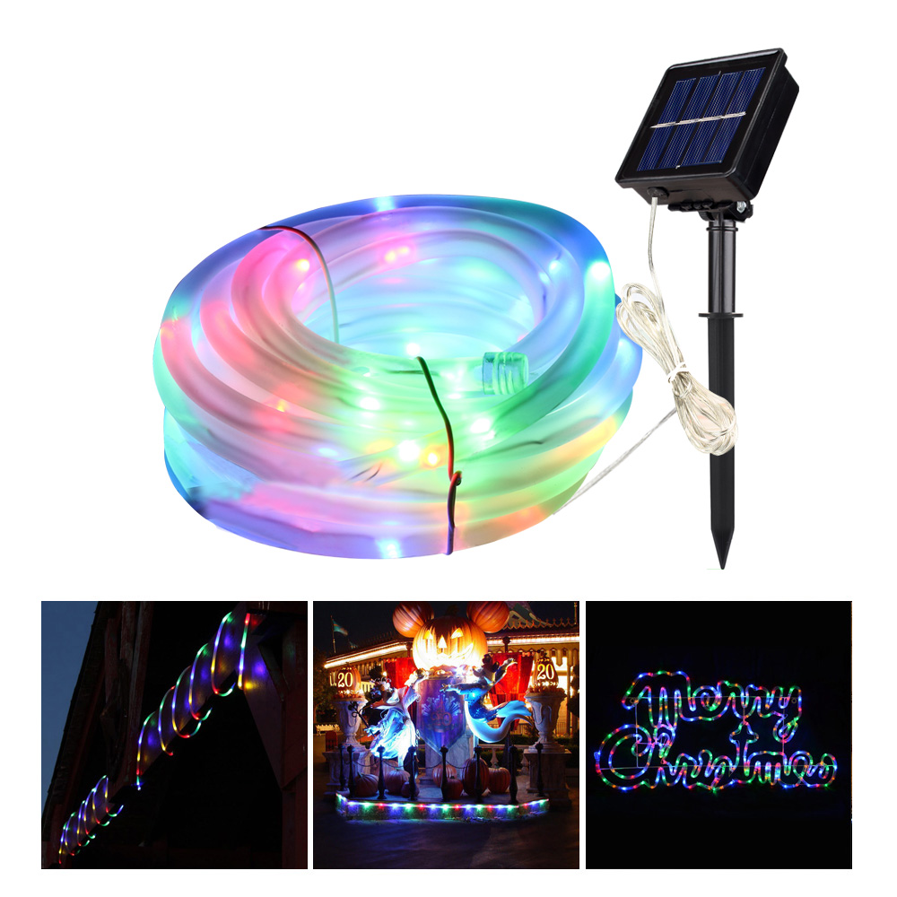 Solar Rope Lights (rgb)